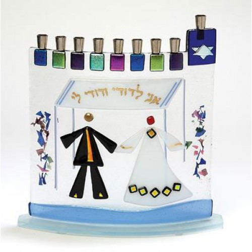 Wedding Menorahs