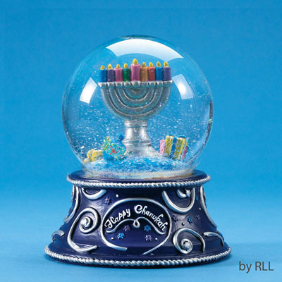 Chanukah Water Globes