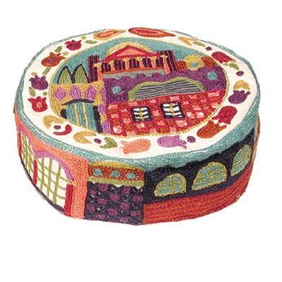 Yair Emanuel Hand Embroidered Kippah