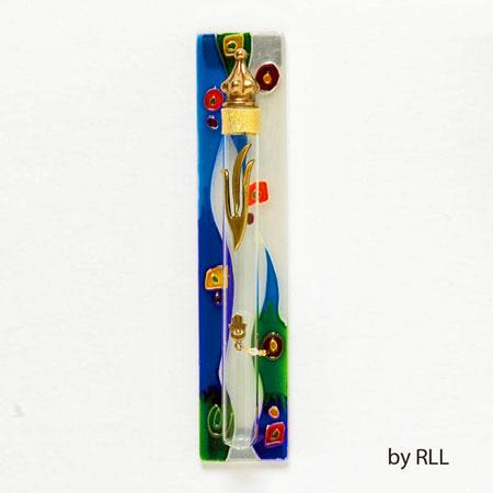 Glass Mezuzah Cases