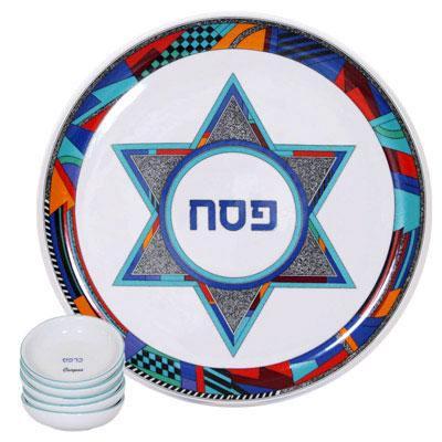 Ceramic Seder Plates