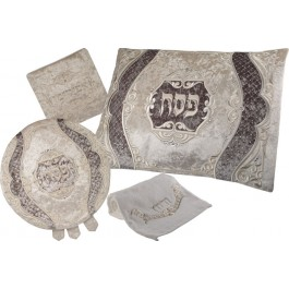 Deluxe Collection Two Tone Velvet Seder Set