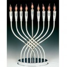 Illumination Electric Menorah with Flickering Bulbs to Simulate Real Candles