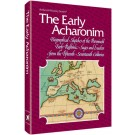 The Early Acharonim