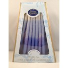 Safed Deluxe Chanukah Candles 14