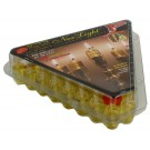 Ner Light Channukah Lights-Box of 44 olive oil vials