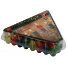 Ner Light Channukah Lights Colored -Box of 44 olive oil vials