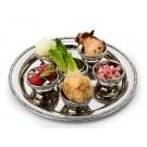 Seder Plate with Diamond Studs