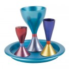 Anodize Aluminum Havdallah Set - Colorful