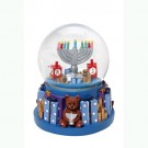 Menorah Water Globe