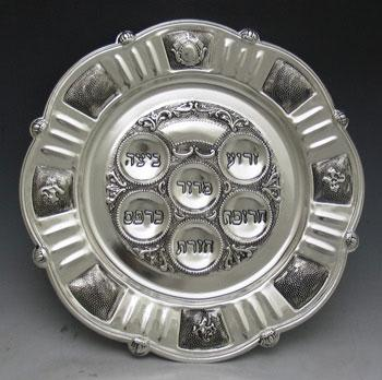 Silver Plated Seder Plates