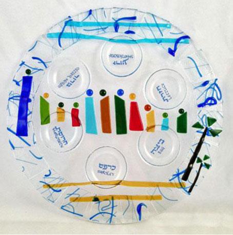 Seder Plates By Tamara Baskin