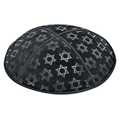 Blind Embossed Kippot