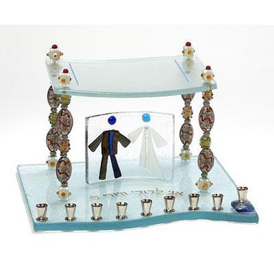 Glass/Crystal Menorahs
