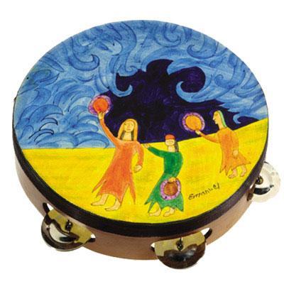 Judaica Tambourine