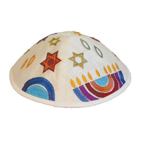 Yair Emanuel Machine Embroidered Kippah