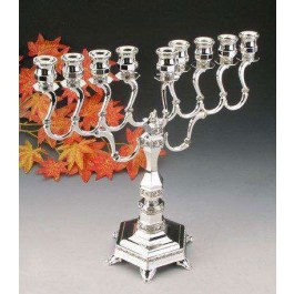Silver Plated Menorah 89