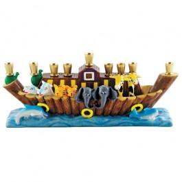 Noahs Ark Menorah by Jessica Sporn