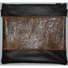 Exclusive Leather Tallis & Tefillin Bag 355BR