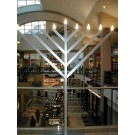 9 ft Indoor Outdoor Display Menorah