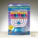 Blinking Menorah  Window Decorations -