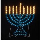 Large Indoor/Outdoor Hanukkah Electric Menorah Decoration