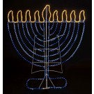 Indoor/Outdoor Lawn Size Electric Menorah Decoration