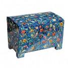Wooden Esrog Box Oriental Design