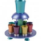 Anodize Aluminum Kiddush Fountain Multi Color