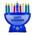 Indoor/Outdoor Inflatable Menorah Decoration