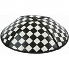 Checkerboard Embossed Kippot