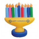Menorah Indoor/outdoor Inflatable Decoration - 7' Feet